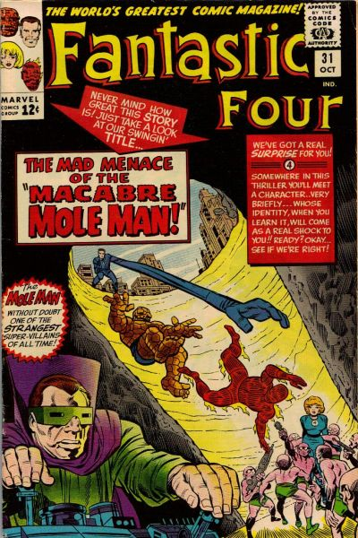 Cover for Fantastic Four (Marvel, 1961 series) #31 [Regular Edition]