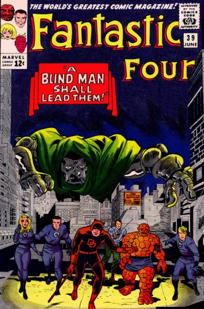 Cover for Fantastic Four (Marvel, 1961 series) #39