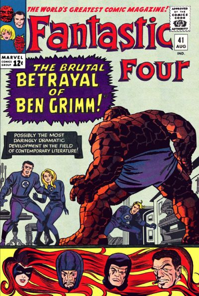 Cover for Fantastic Four (Marvel, 1961 series) #41