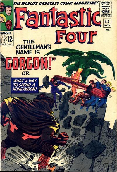 Cover for Fantastic Four (Marvel, 1961 series) #44 [Regular Edition]