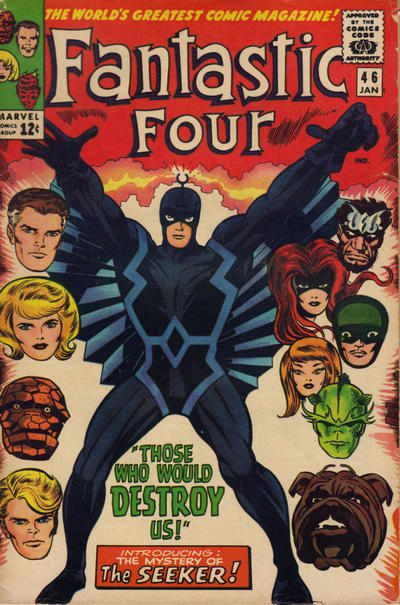Cover for Fantastic Four (Marvel, 1961 series) #46 [Regular Edition]