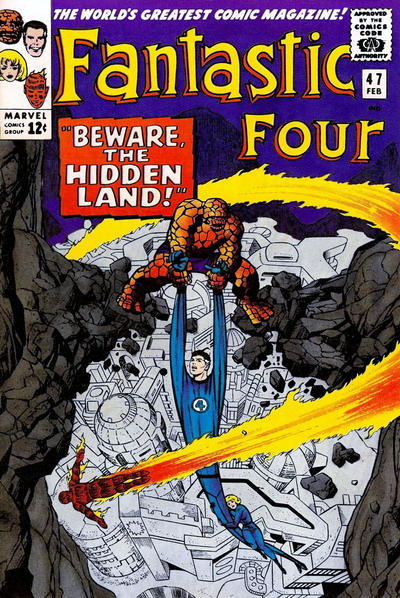 Cover for Fantastic Four (Marvel, 1961 series) #47 [Regular Edition]