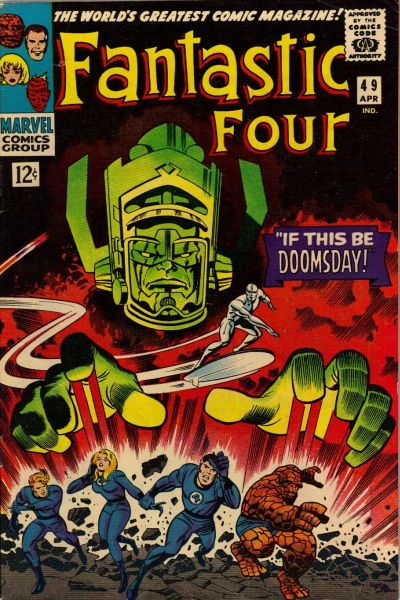 Cover for Fantastic Four (Marvel, 1961 series) #49 [Regular Edition]