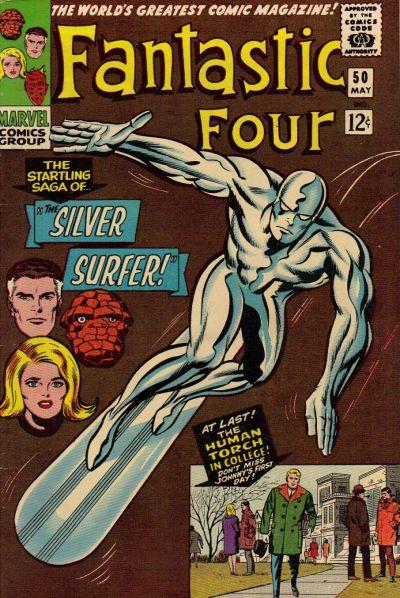 Cover for Fantastic Four (Marvel, 1961 series) #50 [Regular Edition]