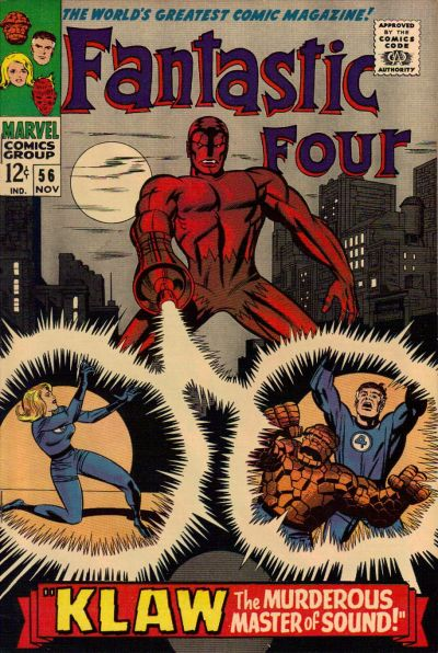 Cover for Fantastic Four (Marvel, 1961 series) #56 [Regular Edition]