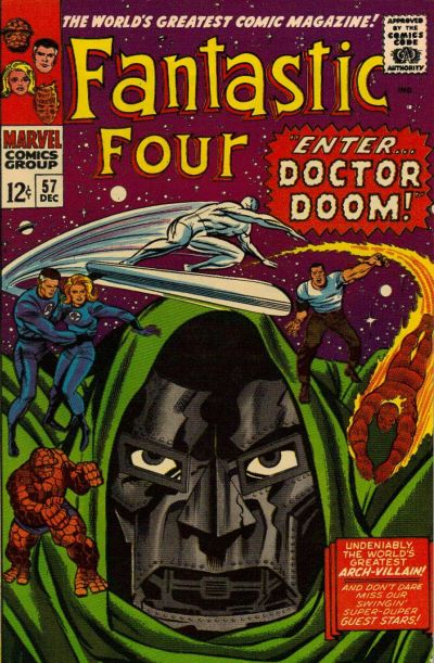 Cover for Fantastic Four (Marvel, 1961 series) #57 [Regular Edition]