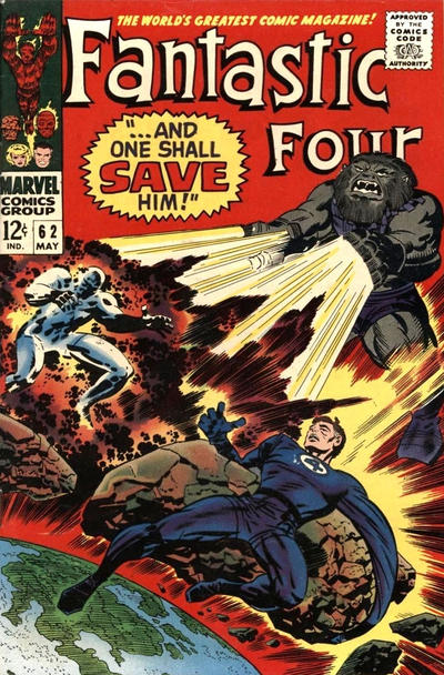 Cover for Fantastic Four (Marvel, 1961 series) #62 [Regular Edition]