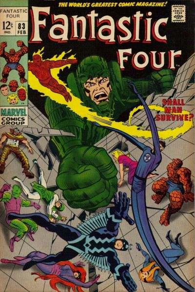 Cover for Fantastic Four (Marvel, 1961 series) #83
