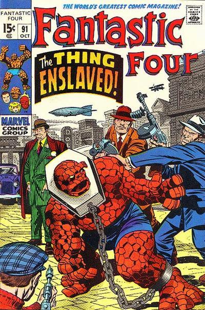 Cover for Fantastic Four (Marvel, 1961 series) #91 [Regular Edition]