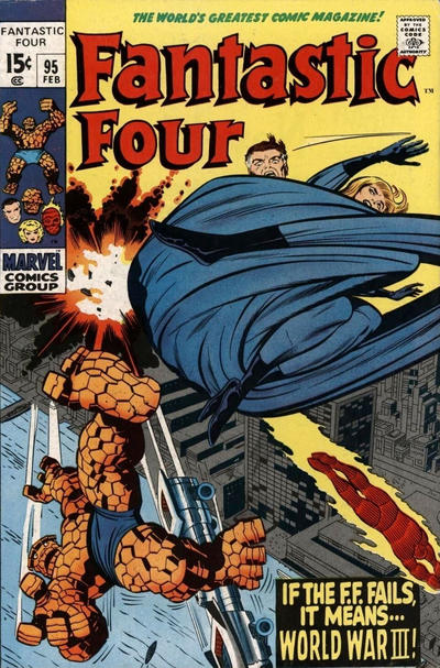 Cover for Fantastic Four (Marvel, 1961 series) #95 [Regular Edition]