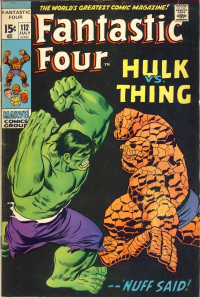 Cover for Fantastic Four (Marvel, 1961 series) #112 [Regular Edition]