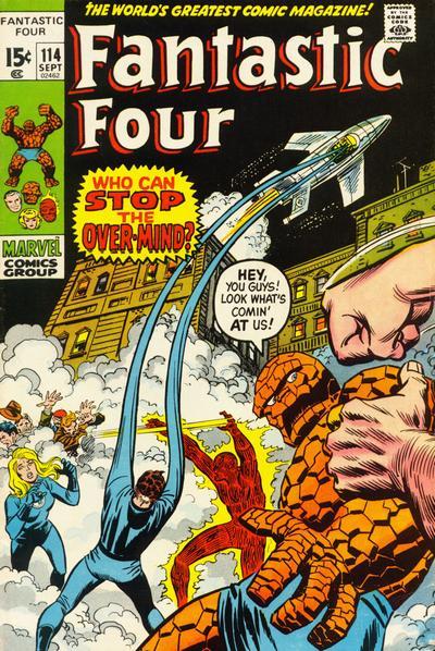 Cover for Fantastic Four (Marvel, 1961 series) #114 [Regular Edition]