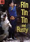 Cover for Rin Tin Tin (Dell, 1954 series) #18 [10 cent cover price]