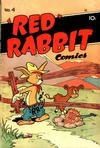 """Cover for """"Red"""" Rabbit Comics (Dearfield Publishing Co., 1947 series) #4"""