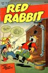 """Cover for """"Red"""" Rabbit Comics (Dearfield Publishing Co., 1947 series) #12"""