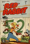 """Cover for """"Red"""" Rabbit Comics (Dearfield Publishing Co., 1947 series) #15"""