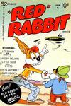 """Cover for """"Red"""" Rabbit Comics (Dearfield Publishing Co., 1947 series) #18"""