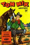 Cover for Tom Mix Western (Fawcett, 1948 series) #12