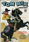 Cover for Tom Mix Western (Fawcett, 1948 series) #13
