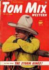 Cover for Tom Mix Western (Fawcett, 1948 series) #28