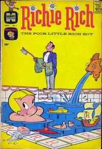 Cover for Richie Rich (Harvey, 1960 series) #1
