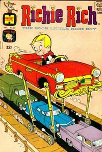 Cover Thumbnail for Richie Rich (Harvey, 1960 series) #37
