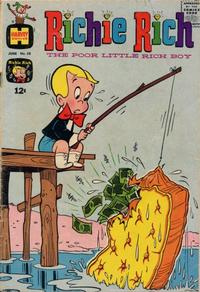 Cover Thumbnail for Richie Rich (Harvey, 1960 series) #58