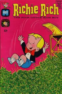 Cover Thumbnail for Richie Rich (Harvey, 1960 series) #75
