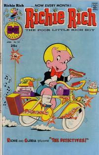 Cover Thumbnail for Richie Rich (Harvey, 1960 series) #141