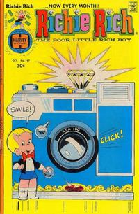 Cover Thumbnail for Richie Rich (Harvey, 1960 series) #147