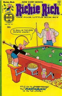 Cover Thumbnail for Richie Rich (Harvey, 1960 series) #157
