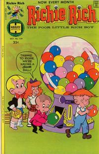 Cover Thumbnail for Richie Rich (Harvey, 1960 series) #159
