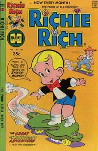 Cover Thumbnail for Richie Rich (Harvey, 1960 series) #163