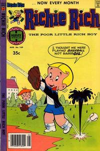 Cover Thumbnail for Richie Rich (Harvey, 1960 series) #169