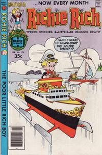 Cover Thumbnail for Richie Rich (Harvey, 1960 series) #175
