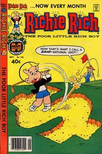Cover Thumbnail for Richie Rich (Harvey, 1960 series) #182