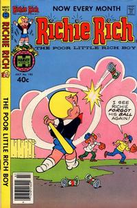 Cover Thumbnail for Richie Rich (Harvey, 1960 series) #192