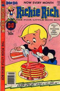 Cover Thumbnail for Richie Rich (Harvey, 1960 series) #197