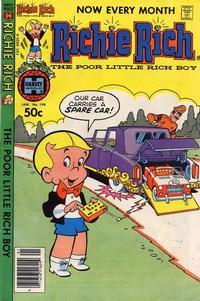 Cover Thumbnail for Richie Rich (Harvey, 1960 series) #198