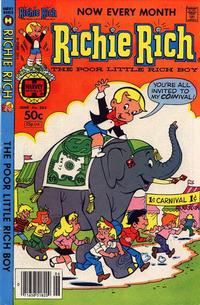 Cover Thumbnail for Richie Rich (Harvey, 1960 series) #203