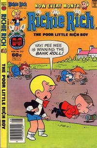 Cover Thumbnail for Richie Rich (Harvey, 1960 series) #217