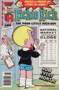 Cover Thumbnail for Richie Rich (Harvey, 1960 series) #242