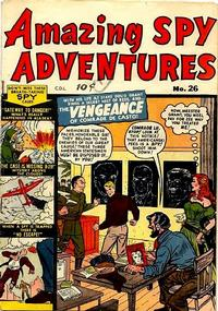 Cover Thumbnail for Amazing Spy Adventures (Bell Features, 1951 series) #26