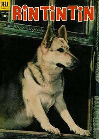 Cover Thumbnail for Rin Tin Tin (Dell, 1954 series) #5