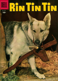 Cover for Rin Tin Tin (Dell, 1954 series) #11