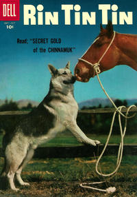 Cover Thumbnail for Rin Tin Tin (Dell, 1954 series) #15