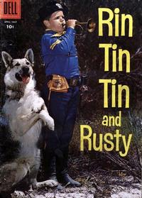 Cover Thumbnail for Rin Tin Tin (Dell, 1954 series) #18 [10 cent cover price]