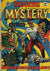 Cover Thumbnail for Shocking Mystery Cases (Star Publications, 1952 series) #51