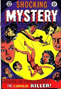 Cover Thumbnail for Shocking Mystery Cases (Star Publications, 1952 series) #52