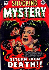 Cover Thumbnail for Shocking Mystery Cases (Star Publications, 1952 series) #55
